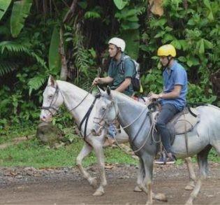 Horseback Riding in La Gamba